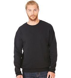 Bella + Canvas C3945  - Unisex Drop Shoulder Fleece Sweatshirt  #bellacanvas #sweatshirt