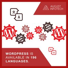 Statistics show that #WordPress is the most popular CMS in the online world today. It powers 27.8% of all sites on the web; with about 50,000 new sites being created daily.  #webdesign #webdevelopment #plugindevelopment #themesdevelopment #augustinfotech #digitalagency #india News Sites, Statistics, Web Development, Wordpress, Web Design, Language, Facts, India, Technology