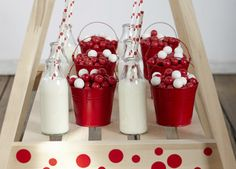 Red Spotty Love Party | Drinks