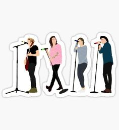 One Direction 8 Pegatina