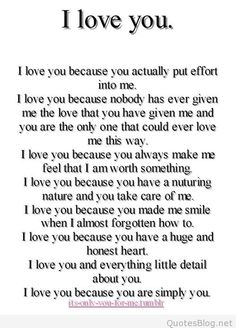 Top Why I love you quotes sayings Cute Love Quotes, Soulmate Love Quotes, Love Quotes For Her, Romantic Love Quotes, Love Yourself Quotes, True Quotes, Romantic Quotes For Boyfriend, Promise Quotes, Love Quotes For Wedding