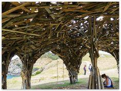 Gregor Kregar - Pavilion Structure