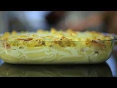 Φτιάξε το τέλειο σουφλέ ζυμαρικών! - YouTube Tasty Dishes, Baked Potato, Dips, Potatoes, Baking, Ethnic Recipes, Youtube, Food, Sauces