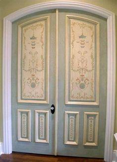 Painted Doors - Jeff Huckaby Painting