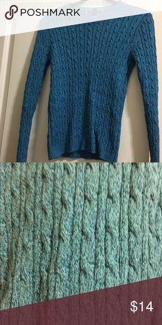 Blue sweater Blue sweater Sweaters Crew & Scoop Necks