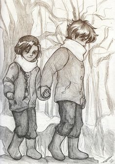 Childhood friendships are my favourite thing and Katniss and Gale are no exception.