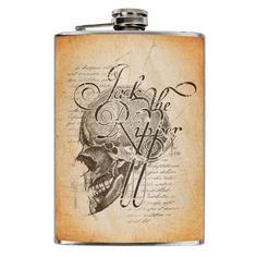 Jack´s Inn 54  STAINLESS STEEL FLASK FLACHMANN JACK THE RIPPER