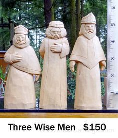 Whittling Projects, Whittling Wood, Christmas Nativity Scene, Christmas Wood, Christmas Craft Projects, Wood Carving Tools, Three Wise Men, Carving Designs, Homemade Toys