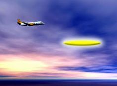 Unidentified Flying Object o Unknown Flying Object: Pilota di linea avvista enorme ufo sigariforme sul...