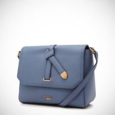 BeanPole [Miss A - Suzy's Bag] Petite Herit Mini Cross Bag_Sky Blue (BE47D3001Q)