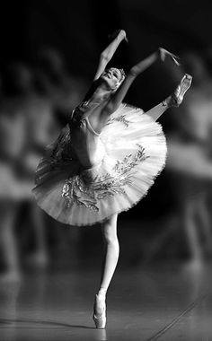 """Photo by Nikolai Krusser """"You get obsessed by dancing because there seems to be no choice. Sometimes you are miserable, sometimes you are floating in elation. But you can't leave it alone until the passion is spun out."""" - Lisa Rinehart"""