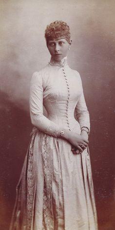 Princess Victoria of Prussia, Venice 1885