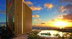 Romantic honeymoon destinations  - Hilton Hawaiian Village.