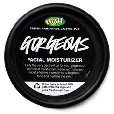 Lush Gorgeous moisturizer