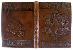 Early 20th century Swiss cuir-ciselé binding by Hans Asper.