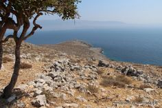 Hiking around the island of Pserimos in Greece. Many surprising little treasures to uncover in this mostly bare and barren island. Kos, Islands, Greece, Hiking, Water, Outdoor, Greece Country, Walks, Gripe Water