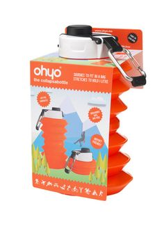 NEW 1000ml Collapsible  OhYo.me bottle - win one for yourself + get a 10% discount throughout Jan 2015 - http://critiquesandtests.weebly.com/ohyo-1000---collapsible-bottles.html