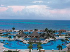 For the Beach Getaway couple: Moon Palace Golf & Spa Resort in Cancun, Mexico