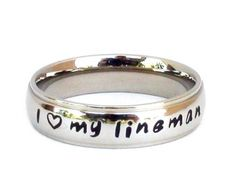 Lineman Wife Jewelry Love my Lineman Lineman by SweetAspenJewels