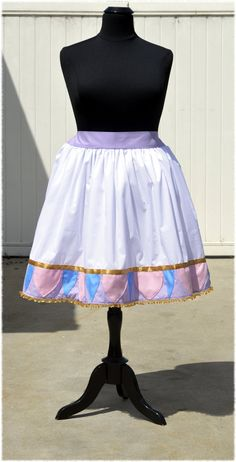 Mrs. Potts & Chip Teapot Pattern White Lavender Pink by NerdBound