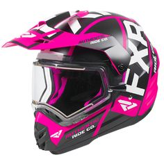 Designed with an electrically heated dual layer face shield, this helmet is a great investment. Buy the Torque X Evo helmet today at Up North Sports. Snowmobile Clothing, Snowmobile Helmets, Snowmobile Parts, Off Road Moto, Pink Helmet, Dual Sport, Evo, Gears, Biker Chick