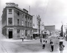 Hero of Waterloo Hotel, Windmill Street, The Rocks, Sydney c1901