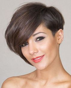 Asymmetrical Short Hair 2018 -