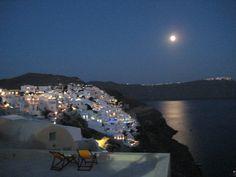 Santorini, Oia. Cyclades , Greece . Santorini, Airplane View, Greece, Viajes, Greece Country, Santorini Caldera