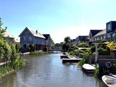 De Groote Wielen, een waterrijke wijk in's-Hertogenbosch.
