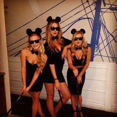 3 blind mice Halloween costume.