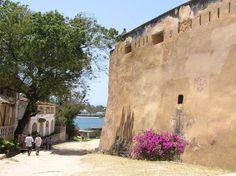 Fort Jesus, Mombasa, Kenya. Built in 1593 by Philip 1 of Portugal.