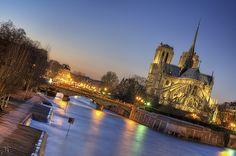 17:54 - Notre Dame de Paris by J.P | Photography, via Flickr