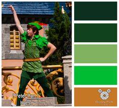 Disney Park Photography - Photo: Peter Pan Colors