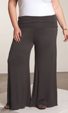 Soft, Comfy Plus Size Pants available in sizes 1X-6X at www.curvaliciousclothes.com #plussize #bbw #curvy #fashion