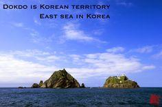Dokdo is korean territory   east sea in korea