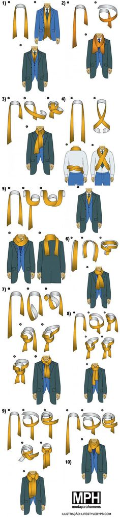 10 formas de usar cachecol   blazer