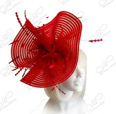 All-Season Crin Fascinator With Signature Accents - 2 Colors – Mr. Song Millinery