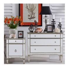 Vavoom Emporium - Antique Mirror 4 Drawer Chest, $1,869.00 (http://www.vavoom.com.au/antique-mirror-4-drawer-chest/)