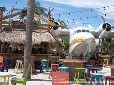 Exterior Bar Area Margaritaville Orlando
