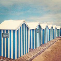 Les cabanes, emblèmes de la plage de Châtelaillon #chatelaillon-plage #chatelaillon