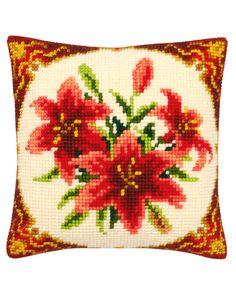 Cross Stitch Pillow, Cross Stitch Borders, Cross Stitch Flowers, Throw Pillows, Embroidery, Cross Stitch Embroidery, Log Projects, Tela, Cross Stitch Heart