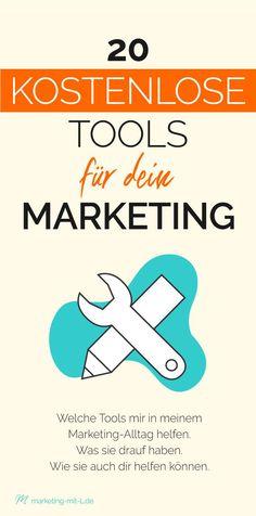 In diesem Artikel lernst du: 20 kostenlose Tools für dein Marketing. In diesem Artikel lernst du: Welche Tools mir in meinem Marketing-Alltag helfen. Was sie drauf haben und wie sie auch dir helfen können.