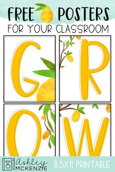 I've fallen in love with the lemon trend lately and had to put together a fun freebie for you to enjoy! These free lemon classroom posters are the perfect addition to your lemon classroom decor! Classroom Routines, Classroom Jobs, 3rd Grade Classroom, Classroom Design, Kindergarten Classroom, Calm Classroom, Future Classroom, Classroom Decor Themes, Printable Classroom Posters