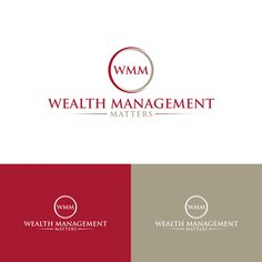 New firm Wealth Management Matters needs a logo Accounting & Financial by S T R O N G