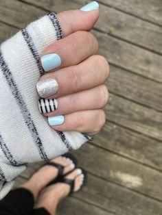 Nail Color Combos, Toe Nail Color, Color Street Nails, Nail Colors, Manicure And Pedicure, Gel Nails, Acrylic Nails, Fancy Nails, Cute Nails