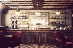 Soho House Chicago | Gallivant  Cellar 104 (Good image for downstairs bar.)