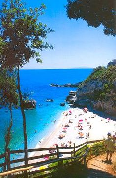 Mylopotamos beach, Magnesia prefecture in Greece