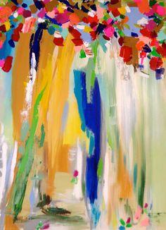 Art Abstract Hugh Susan Skelley Painting 40 X by susanskelleyart, $300.00 Sold