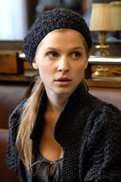 Clemence Poesy. idea for bad hair day