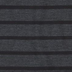 jersey stripes in charcoal/black